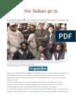 Why Did the Taliban Go to Tehran