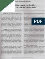 Racionalidad y progreso cientifico en torno a la relacion popper Kuhn.pdf