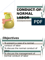 Normal Conduct of Labor