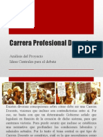 Carrera Profesional Docente Ppt