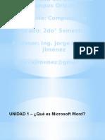 Introduccion Procesador de Textos