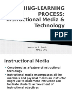 teaching-learning process- instructional media & technology
