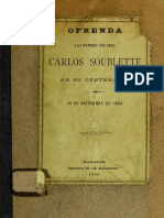 Ofrenda a  Santiago Soublette