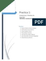 Reporte de Practica 1- Instalaciones Electricas