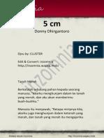 5cm - Donny Dhirgantoro