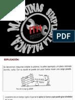2da. a.-presentación de Matemática Aplicada a La Mecánica. Ley de La Palanca.