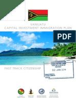 Vanuatu CIIP /2nd passport Promotion  Brochure