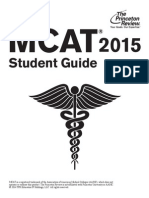 MCAT 2015 Student Guide 2015-01-22