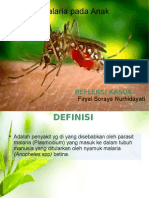 Malaria pada Anak