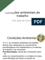 Condições Ambientais de Trabalho-AULA