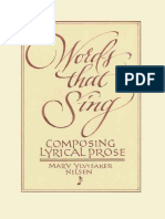 Words That Sing Composing Lyrical Prose