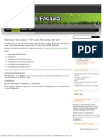 Montar Servidor FTP Con Filezilla Server