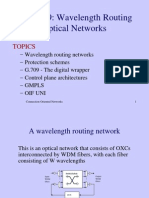 Chapter9 Wavelength Routing Optical Networks