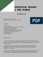 Ley, Robert - The Pestilential Miasma of the World