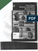 Chaunu Historia Cuantitativa Historia Serial