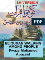 Book_English_Be Quran Walking Among People