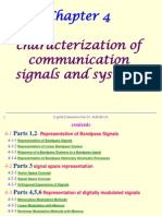 4 - Proakis Chapter 4 - Charaterization of Comm Signals and Systems 1-7-2010 Printable Version