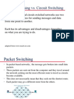 12695 Circuit and Packet Switching