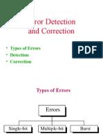 12695_Error Detection Techniques