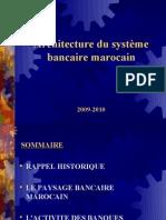 l'archetecture du Système Bancaire Marocain