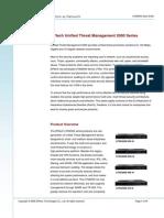 DPtech UTM2000 Series Data Sheet