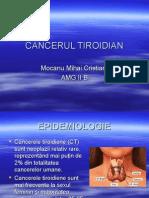 cancerul tiroidian