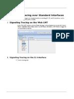 LTE Signaling Tracing