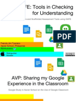 GAFE- Tools in Checking for Understanding