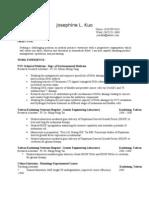 Josephine Kuo-Resume 2010
