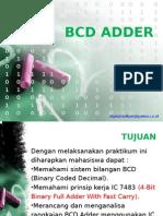 11. Bcd Adder