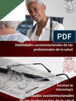 Habilidades Socioemocionales en los profesionales de la salud