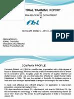 Presentation Fermenta Biotech limited