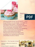Stephany's analiza marketing