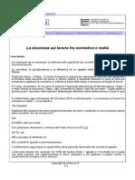 La sicurezza sul lavoro tra normativa e realtà - Punto Sicuro.it, 19 maggio 2015