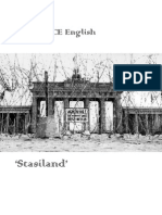 Stasiland Notes