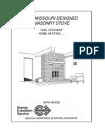 Masonry Stove Plans