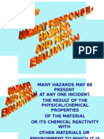 Hazmat Evaluation