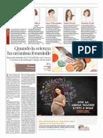 Quando la scienza ha un'anima femminile. Alla Ricercatrice Nadia Pieretti di Uniurb il Premio L'Oréal-Unesco - La Stampa del 19 maggio 2015