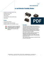 Surface Mount Schottky Diodes