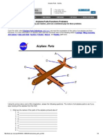 Airplane Parts - Activity