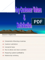 2. Delivering Curstomer Values & Satisfaction