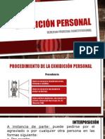 Exhibición Personal