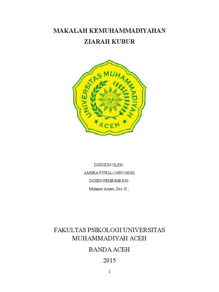 Cover Makalah Ziarah Kubur