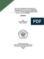 Pengaruh Pemberian Ekstrak Daun pada Kadar Kolestrol,LDL,HDL,Trigliserida Darah Tikus Diabetes