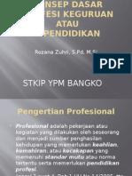 Profesi Keguruan