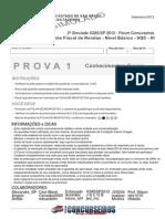 2º Simulado Icms-sp-2012 - Prova 1