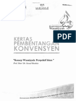 Konsep Wasatiyyah; Perspektif Islam