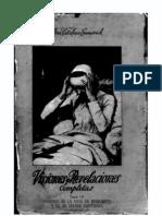 Emmerick, Visiones y revelaciones completas, Tomo III (comenzar por el tomo IV)