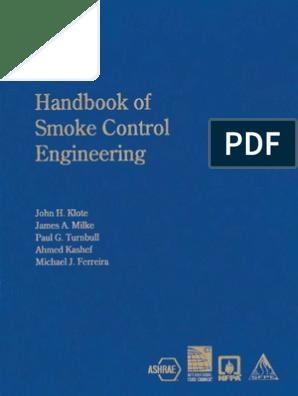 Smoke Control Engineering Handbook | International System Of
