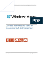 c Rear Cuenta Windows Azure